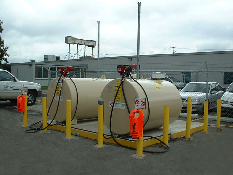 Above Ground Fuel Storage Tanks