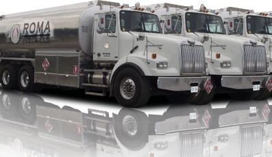 Roma Fuels Fleet Refueling Trucks